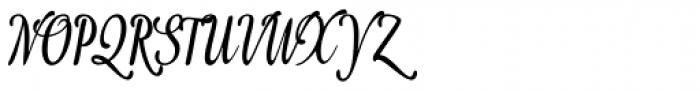 Idea Condensed Font UPPERCASE