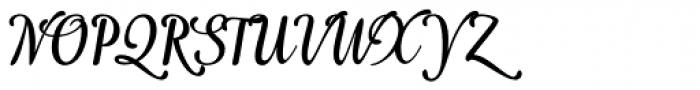 Idea Font UPPERCASE