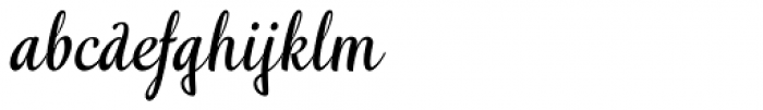 Idea Font LOWERCASE