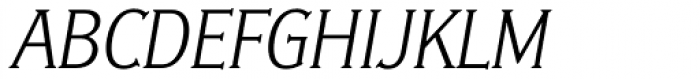 Ideal Gothic 1 Italic Font UPPERCASE