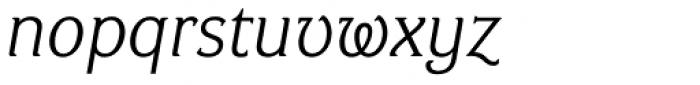 Ideal Gothic 1 Italic Font LOWERCASE