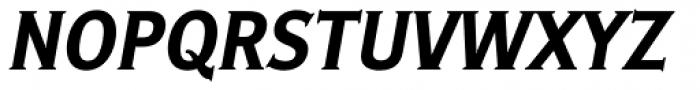 Ideal Gothic 2 Bold Italic Font UPPERCASE
