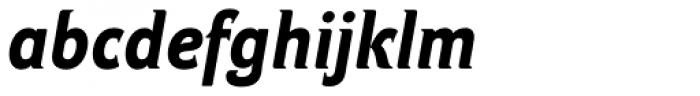 Ideal Gothic 2 Bold Italic Font LOWERCASE