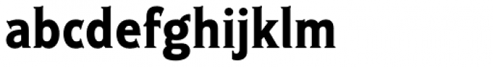 Ideal Gothic 2 Bold Font LOWERCASE