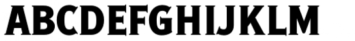 Ideal Gothic 3 Bold Font UPPERCASE