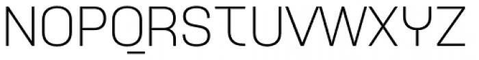 Idealista Light Font UPPERCASE