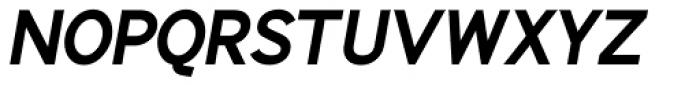 Identikal Sans Bold Italic Font UPPERCASE