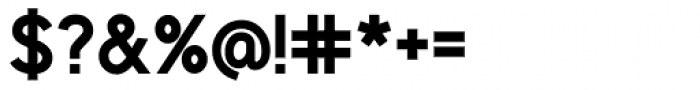 Identikal Sans Bold Font OTHER CHARS