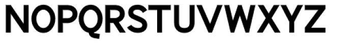 Identikal Sans Bold Font UPPERCASE