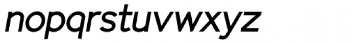 Identikal Sans Italic Font LOWERCASE