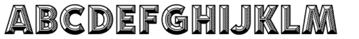 Idler Pro Detail Font UPPERCASE
