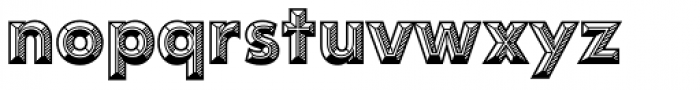 Idler Pro Detail Font LOWERCASE
