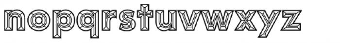 Idler Pro Plain Font LOWERCASE