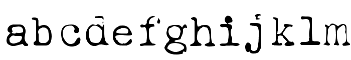 Ieicester Light Font LOWERCASE