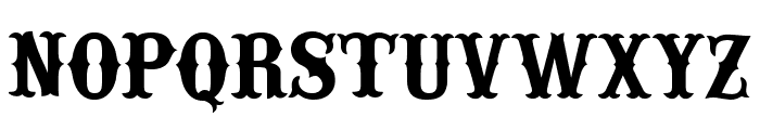 IFC RAILROAD Bold Font UPPERCASE