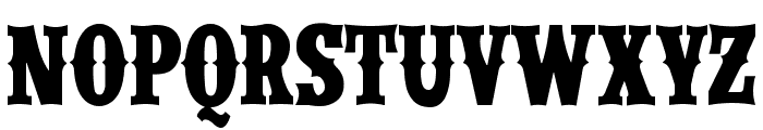 IFC WILDRODEO Bold Font LOWERCASE