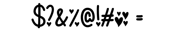IFoundMyValentine Font OTHER CHARS