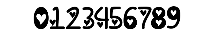 IFoundMyValentineHearted Font OTHER CHARS