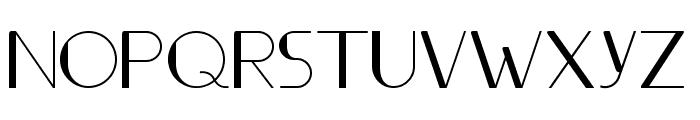 Ifti-Regular Font UPPERCASE