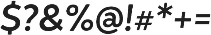Igna Sans Bold It otf (700) Font OTHER CHARS