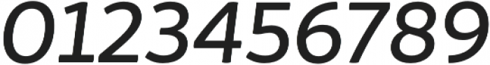 Igna Sans Medium It otf (500) Font OTHER CHARS
