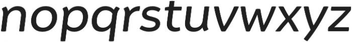 Igna Sans Medium It otf (500) Font LOWERCASE