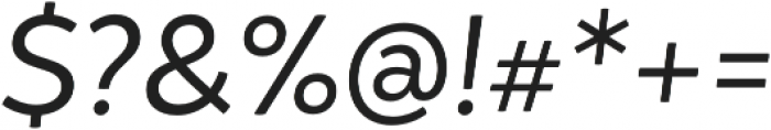 Igna Sans Regular It otf (400) Font OTHER CHARS