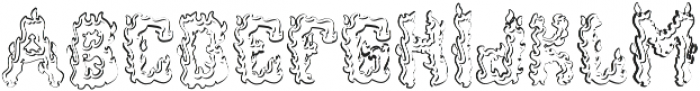 Ignition Aged otf (400) Font UPPERCASE