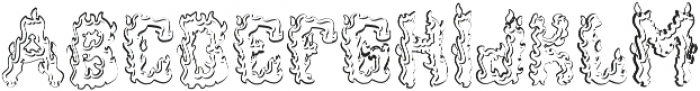 Ignition Aged otf (400) Font LOWERCASE