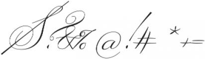 Ignorance Regular otf (400) Font OTHER CHARS