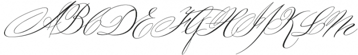 Ignorance Regular otf (400) Font UPPERCASE