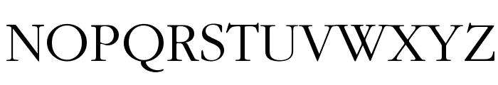IGaramond Regular Font UPPERCASE