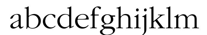 IGaramond Regular Font LOWERCASE