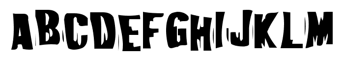 Iggypiggy Font UPPERCASE
