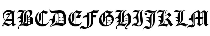 Iglesia-Light Font UPPERCASE