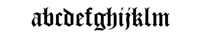 Iglesia-Light Font LOWERCASE