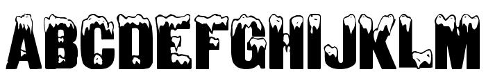 IglooCaps Font LOWERCASE