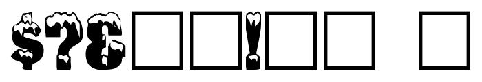IglooLaser Font OTHER CHARS