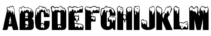 IglooLaser Font UPPERCASE