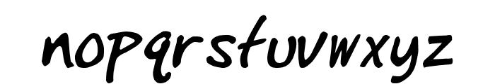 IgniteMe Bold Italic Font LOWERCASE