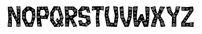 Ignorant Flat Regular Font UPPERCASE