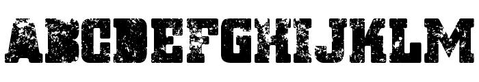 Ignoreland A Regular Font UPPERCASE