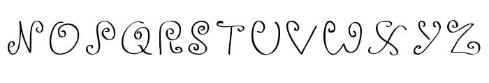 Ignoreme_demo Regular Font UPPERCASE