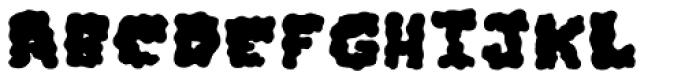 Iggy Fill Font UPPERCASE