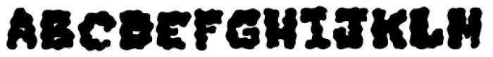 Iggy Fill Font LOWERCASE