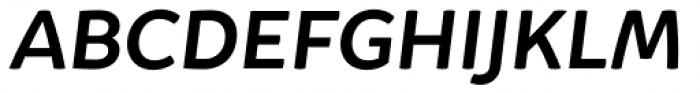 Igna Sans Black Italic Font UPPERCASE