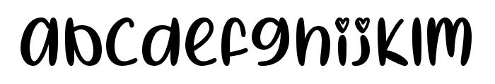 IHeartSummer-Regular Font LOWERCASE