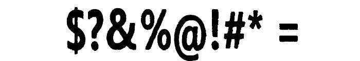 Ihana Perkele Font OTHER CHARS