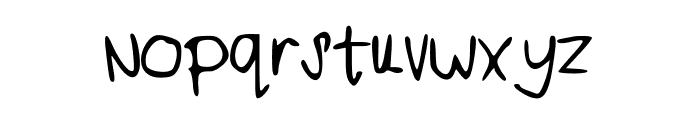 iheartyou Font LOWERCASE
