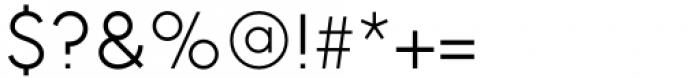 II Vorkurs Light Font OTHER CHARS